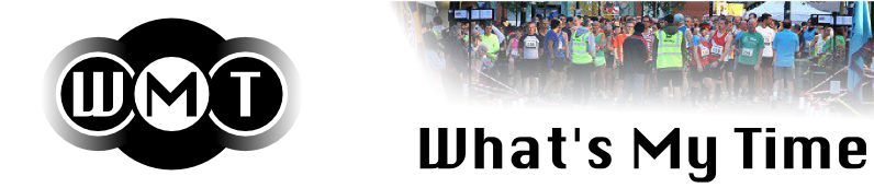 Whats My Time - event timing, triathlon, running, multisports